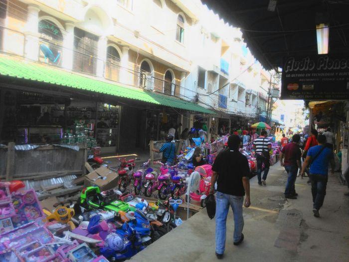 Marktmeile Santa Marta