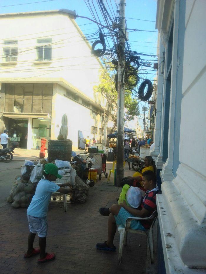 Kokosunusverkäufer