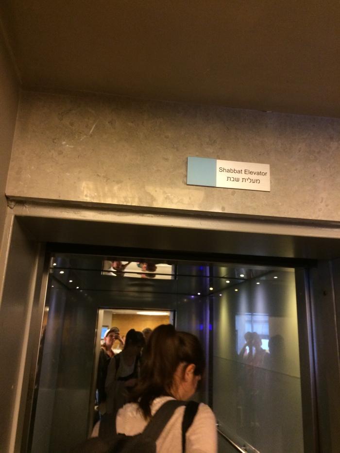 Shabbat Aufzug