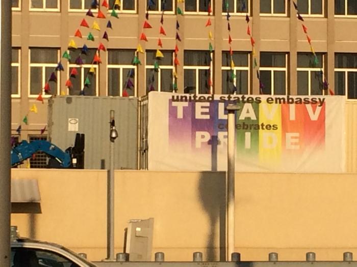 American embassy Gay Pride