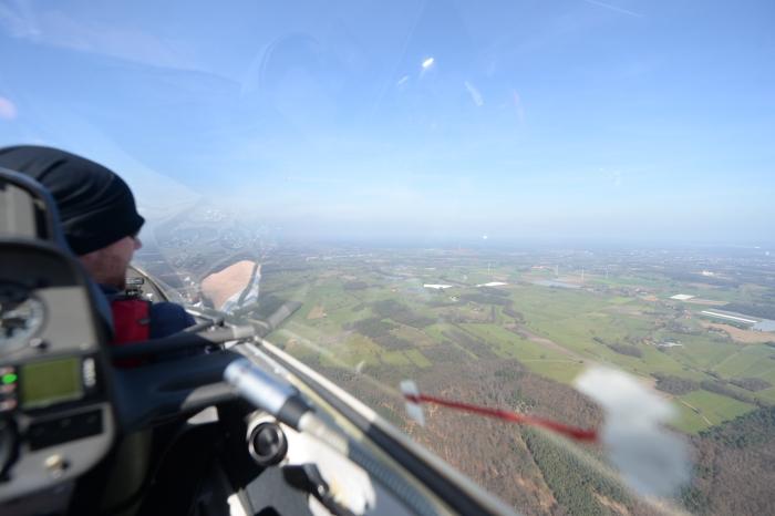Über den Wolken am Niederrhein